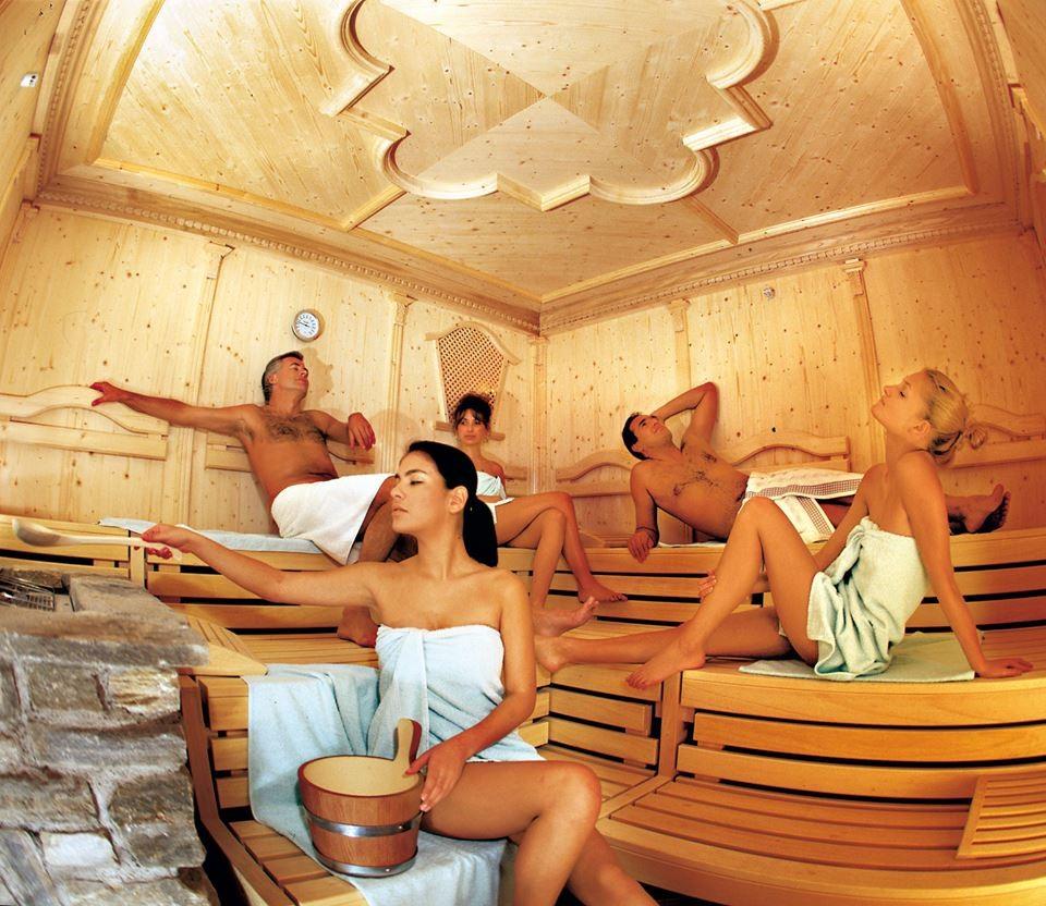 steamiest sauna scene: three girls get racy with each other  173717